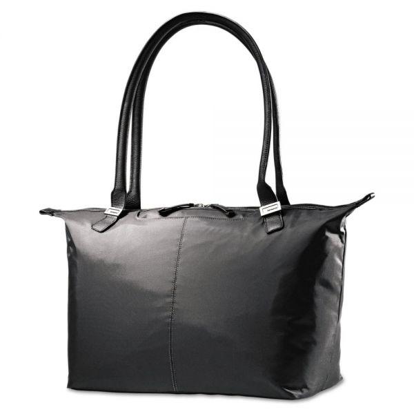 Samsonite Jordyn Ladies Laptop Bag, 21 1/4 x 7 1/2 x 12, Nylon, Black