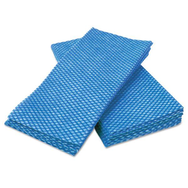Cascades Busboy Durable Foodservice Towels, Blue/White, 12 x 24, 200/Carton