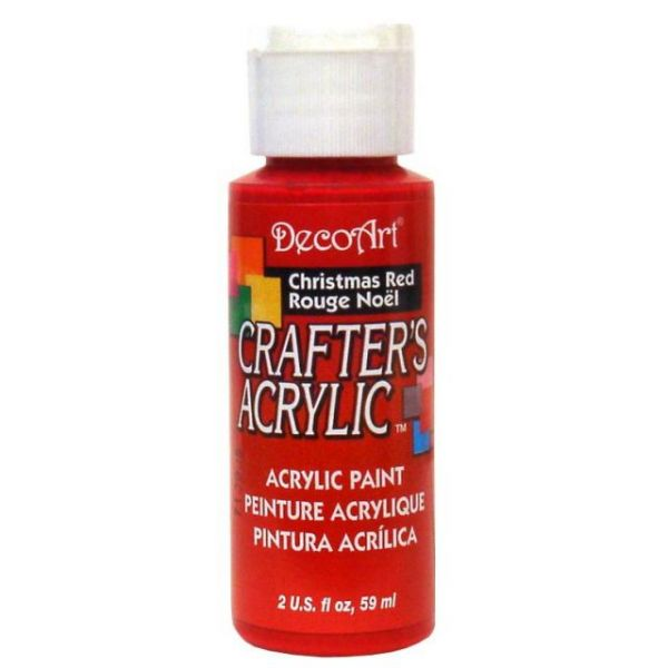 Deco Art Christmas Red Crafter's Acrylic Paint