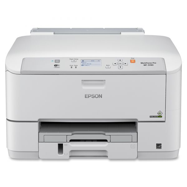 Epson WorkForce Pro WF-5190 Inkjet Printer - Color - 4800 x 1200 dpi Print - Plain Paper Print - Desktop