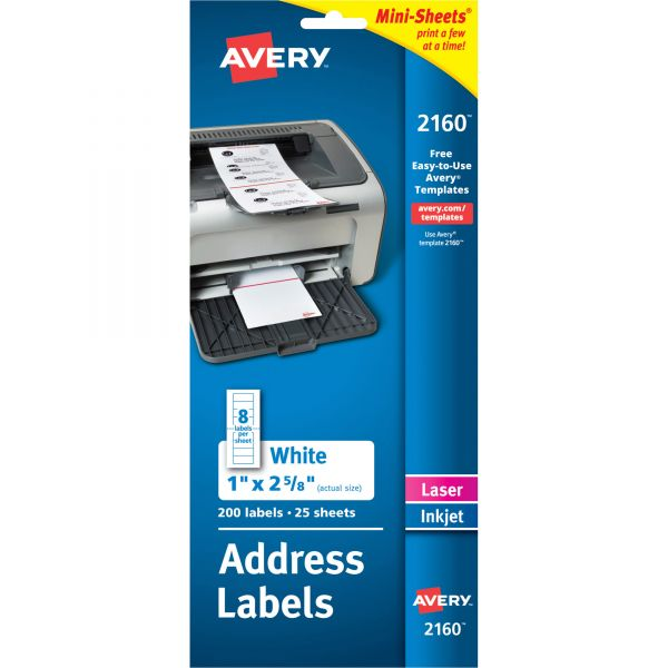 Avery Mini-Sheets Address Labels