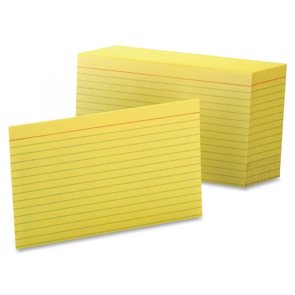 "Esselte 4"" x 6"" Ruled Index Cards"