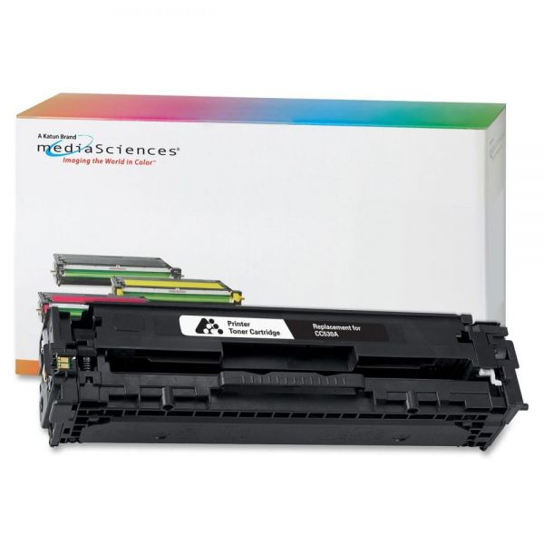 Media Sciences Remanufactured HP 304A Black Toner Cartridge