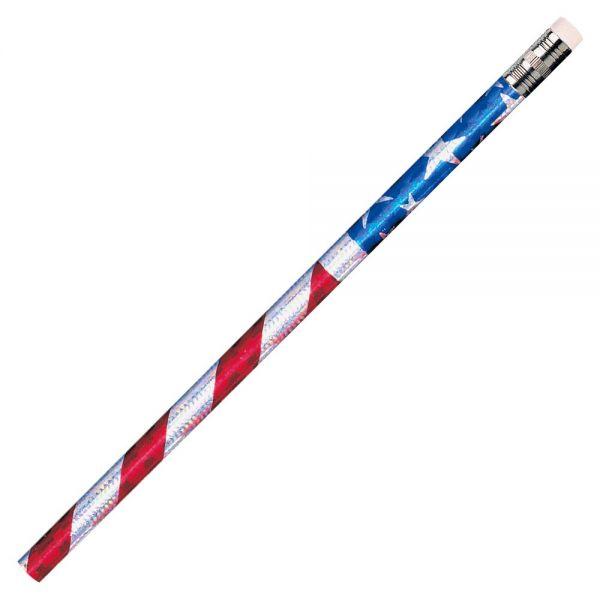 Moon Products Stars/Stripes Glitz Pencils