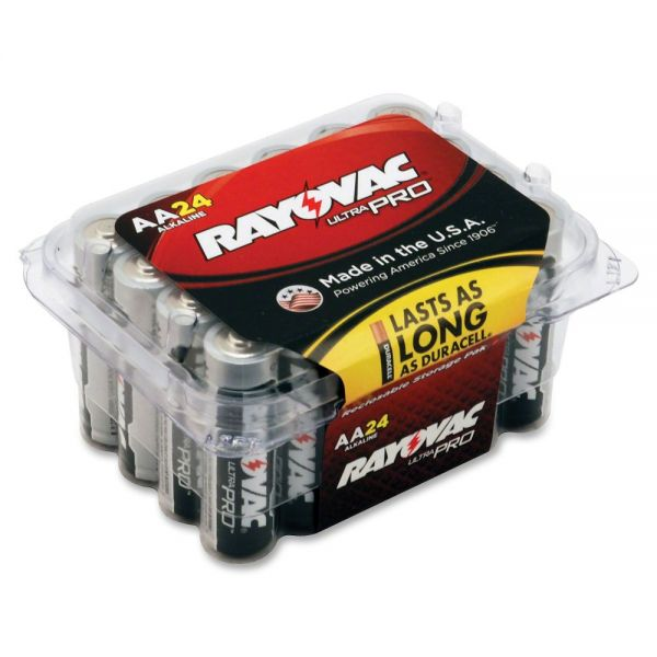 Rayovac Ultra Pro Alka AA Batteries