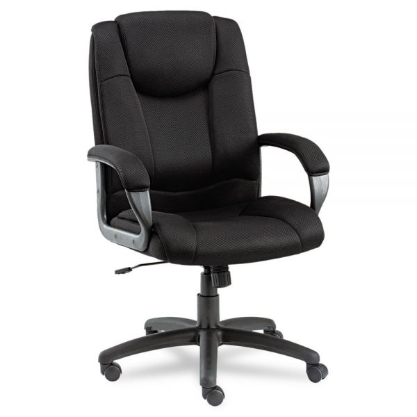 Alera Logan Series Mesh High-Back Swivel/Tilt Office Chair
