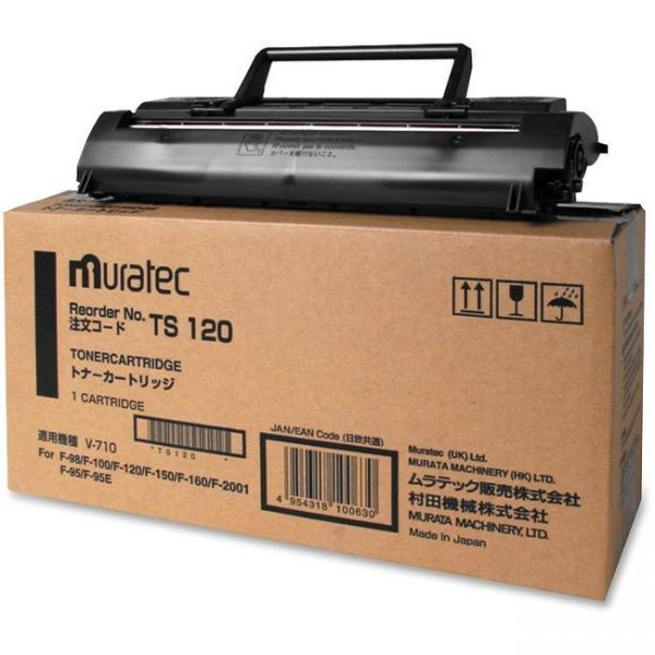 Muratec TS120 Black Toner Cartridge
