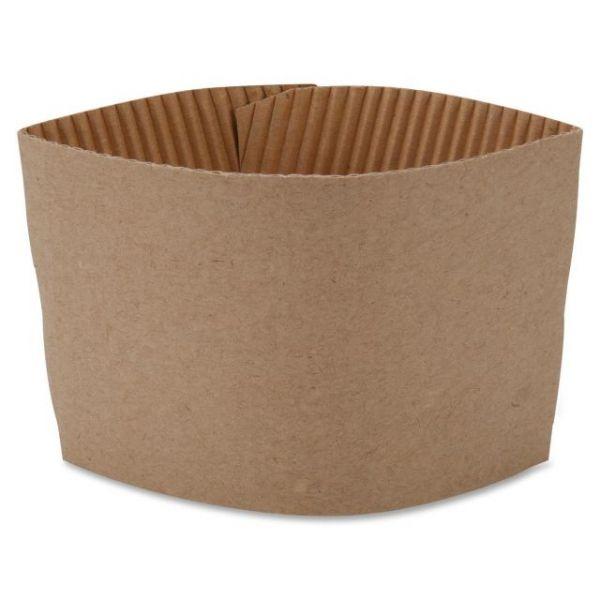 Genuine Joe Protective Corrugated Cup Sleeves
