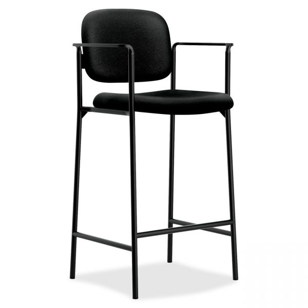 basyx by HON HVL636 Cafe Height Stool With Arms