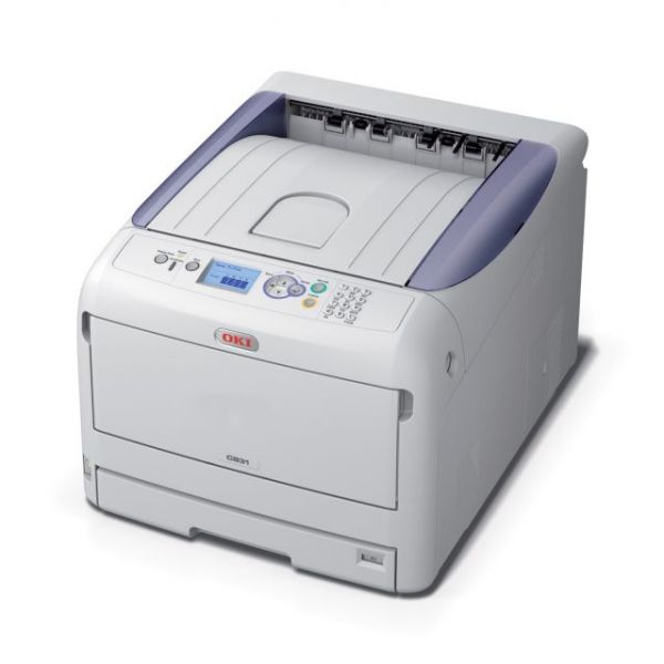 Oki C800 C831N LED Printer - Color - 1200 x 600 dpi Print - Plain Paper Print - Desktop