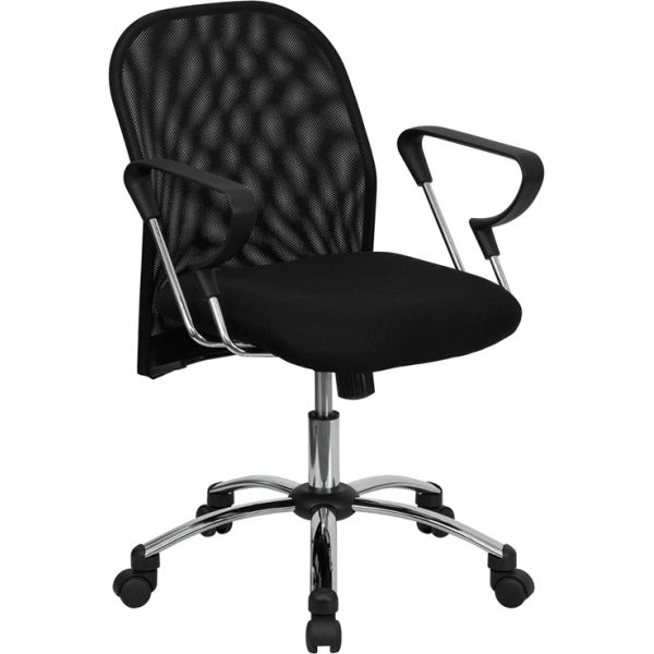 Flash Furniture Mid-Back Mesh Swivel Task Chair
