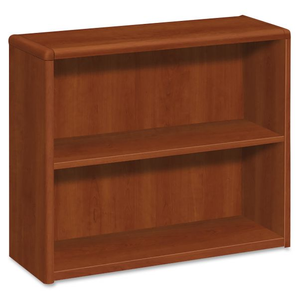 HON 10700 Series 2-Shelf Bookcase