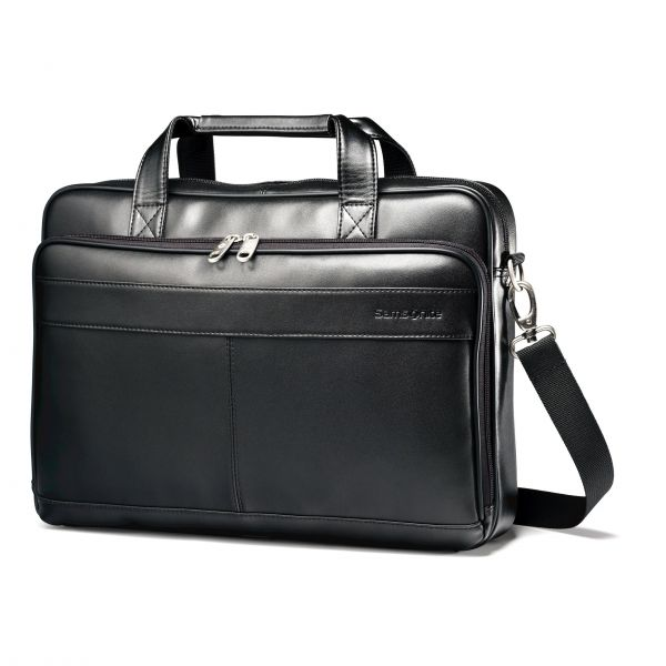 """Samsonite Carrying Case (Briefcase) for 15.6"""" Notebook, Accessories - Black"""
