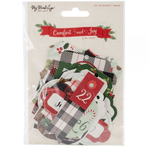 Comfort & Joy Tags 26/Pkg