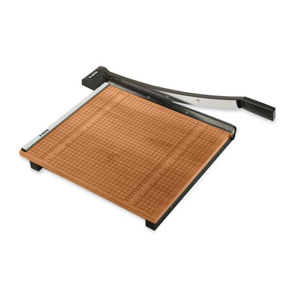"X-ACTO Wood Base Guillotine 18"" Paper Cutter"
