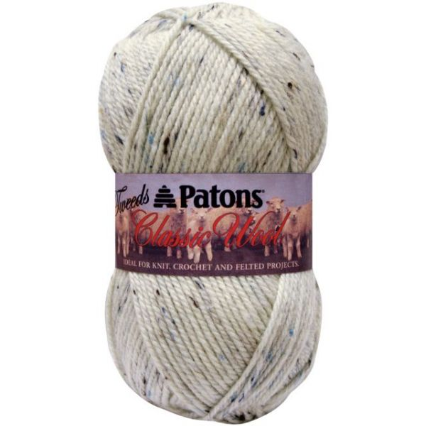 Patons Classic Wool Yarn Tweeds - Aran