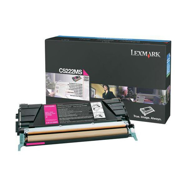 Lexmark C5222MS Magenta Toner Cartridge