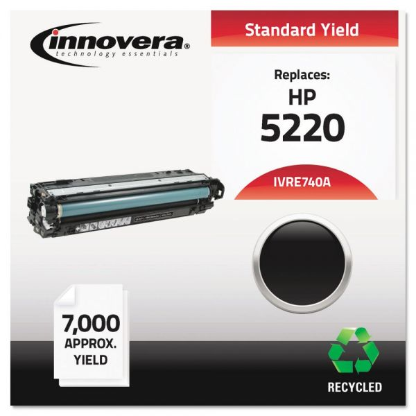 Innovera Remanufactured HP 5220 (CE740A) Black Toner Cartridge