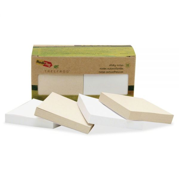 "Redi-Tag 100% Tree Free 3"" x 3"" Adhesive Note Pads"