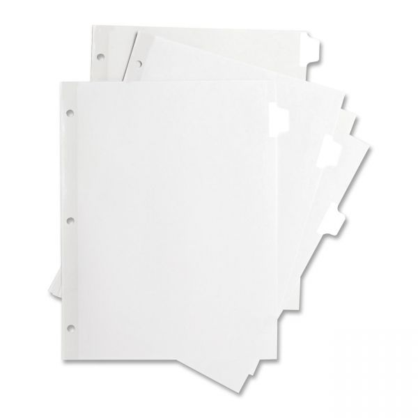Sparco Laser Printer Index 12-Tab Dividers