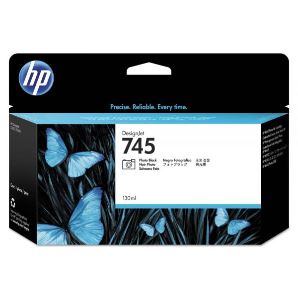 HP 745 Photo Black Ink Cartridge (F9J98A)