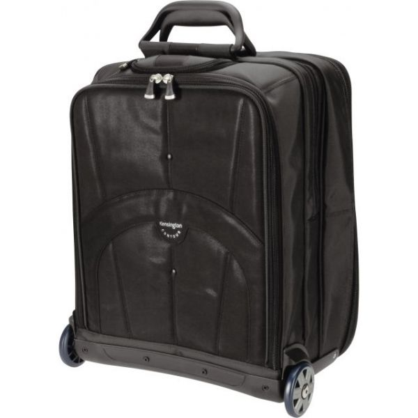 "Kensington Carrying Case (Roller) for 17"" Notebook - Black"