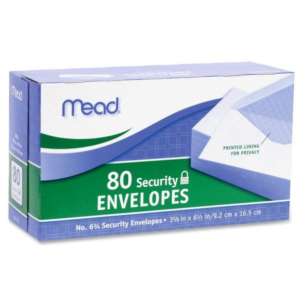 Mead Security Envelopes