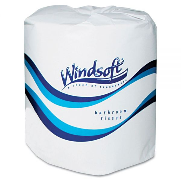 Windsoft Facial Quality Individually Wrapped 2 Ply Toilet Paper