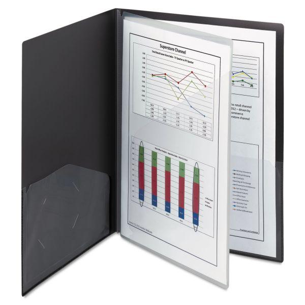 Smead Poly Four-Pocket Folders