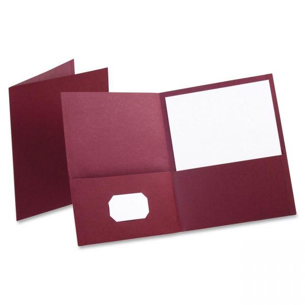 Oxford Two Pocket Folders