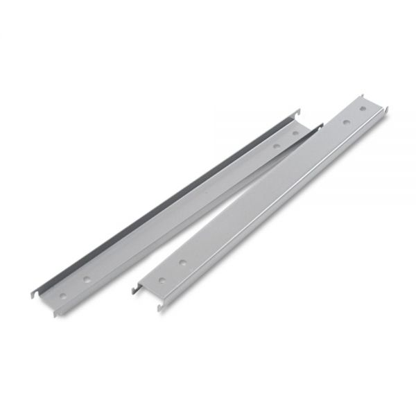 "Alera Three Row Hangrails for 42"" Files, Aluminum, 2/Pack"