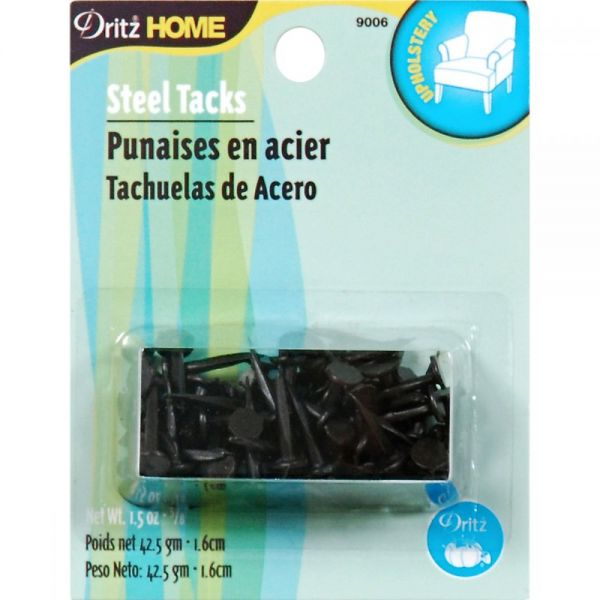 "Upholstery Steel Tacks 5/8"" 1.5oz"