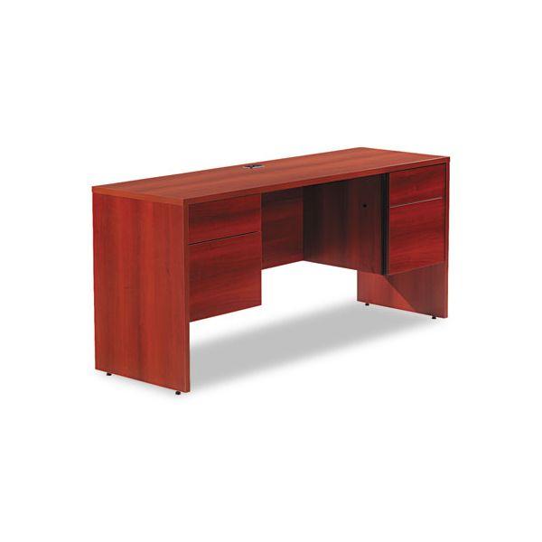 Global Genoa Series Double Pedestal Computer Desk