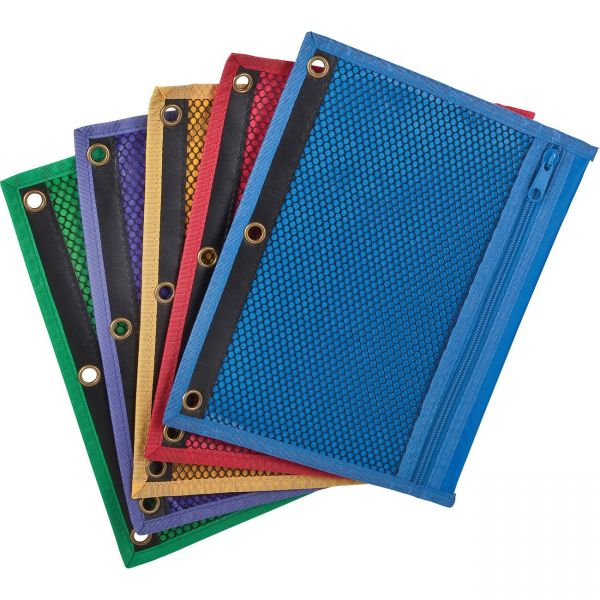 Oxford Zipper Binder Pockets