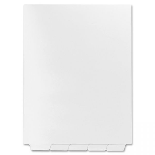 Kleer-Fax 80000 Series Bottom Tab Index Dividers