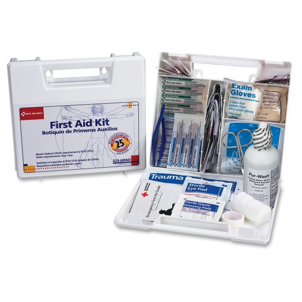 First Aid Only 25 Person Bulk First Aid Kit