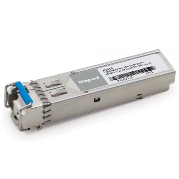 C2G Cisco GLC-BX-D compatible 1000Base-BX SFP Transceiver (SMF,1490nmTX/1310nmRX, 10km, LC, DOM)