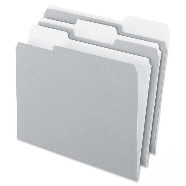 Pendaflex Gray Colored File Folders