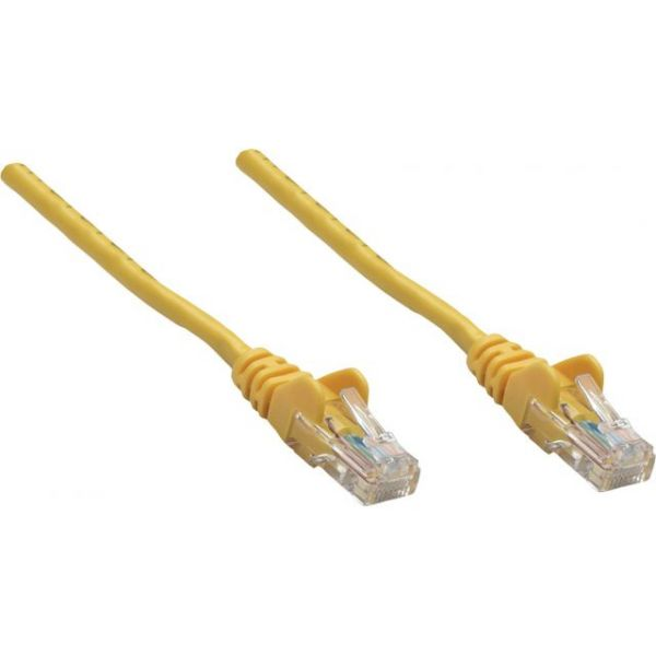 Intellinet Patch Cable, Cat5e, UTP, 1.5', Yellow