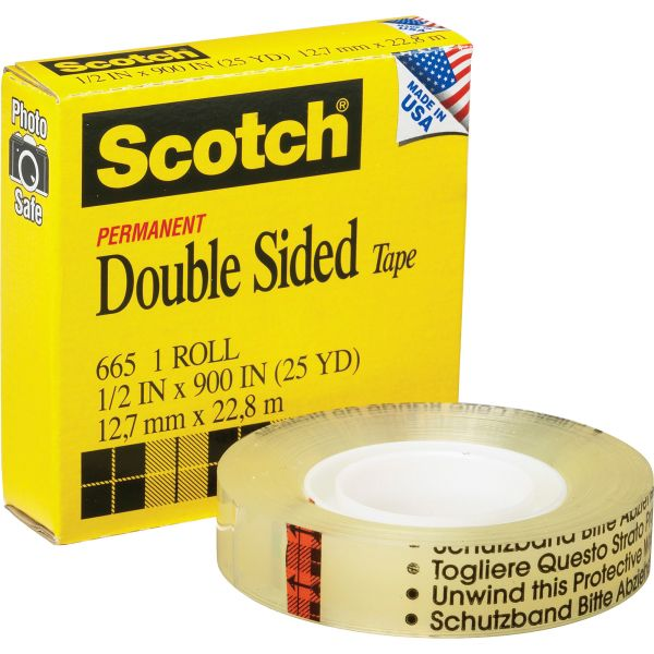 Scotch Permanent Double-Sided Tape Refill
