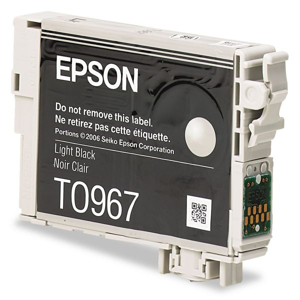 Epson T096720 (96) Ink, Light Black