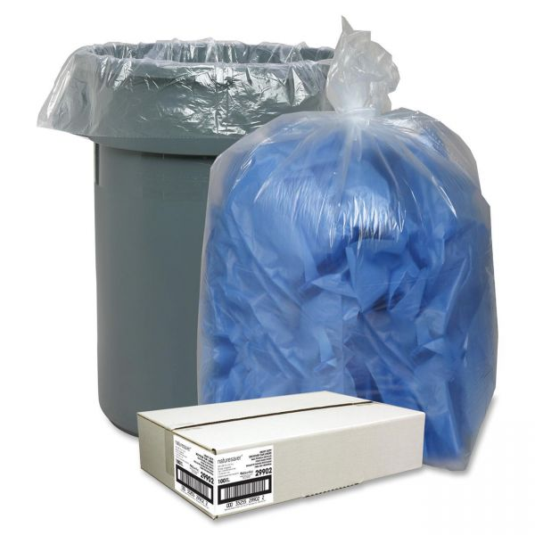 Nature Saver Recycled 60 Gallon Trash Bags