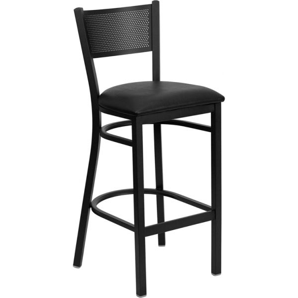 Flash Furniture HERCULES Series Grid Back Barstool