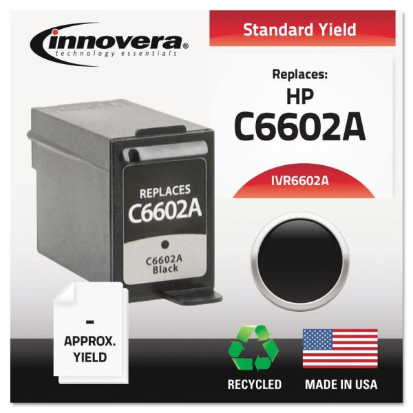 Innovera Remanufactured HP C6602A Ink Cartridge