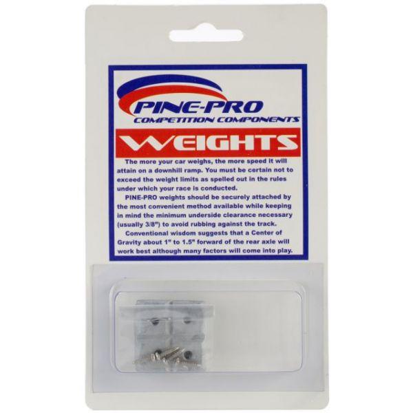 Pine Car Derby Weights 2oz 8/Pkg