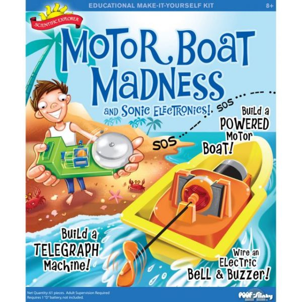Scientific Explorers Motor Boat Madness Kit