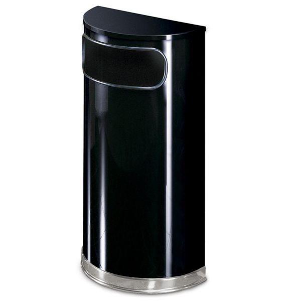 United European Half Round 9 Gallon Trash Can