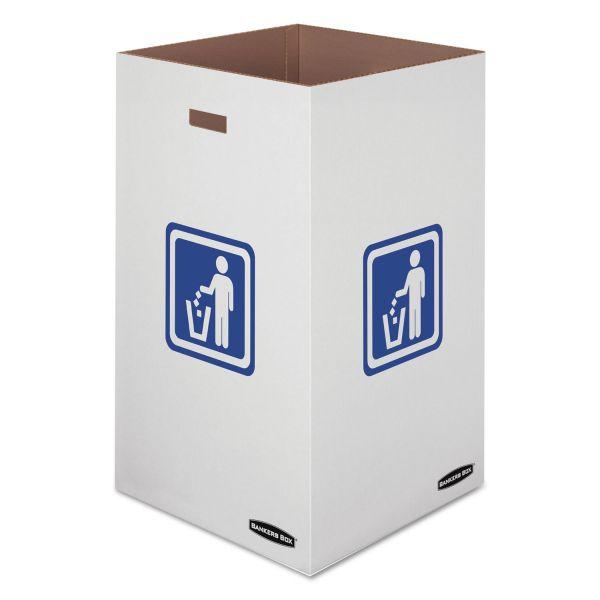 Bankers Box 50 Gallon Trash & Recycling Bins