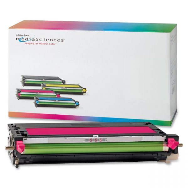 Media Sciences Remanufactured Xerox 113R00724 Magenta Toner Cartridge