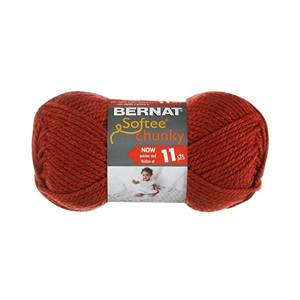 Bernat Softee Chunky Yarn - Redwood